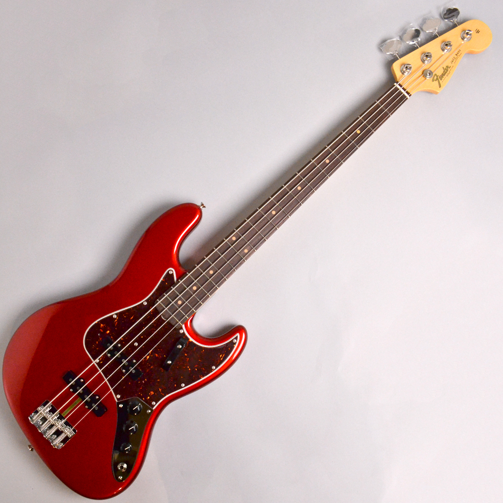 AMERICAN ORIGINAL '60S JAZZ BASS Candy Apple Red