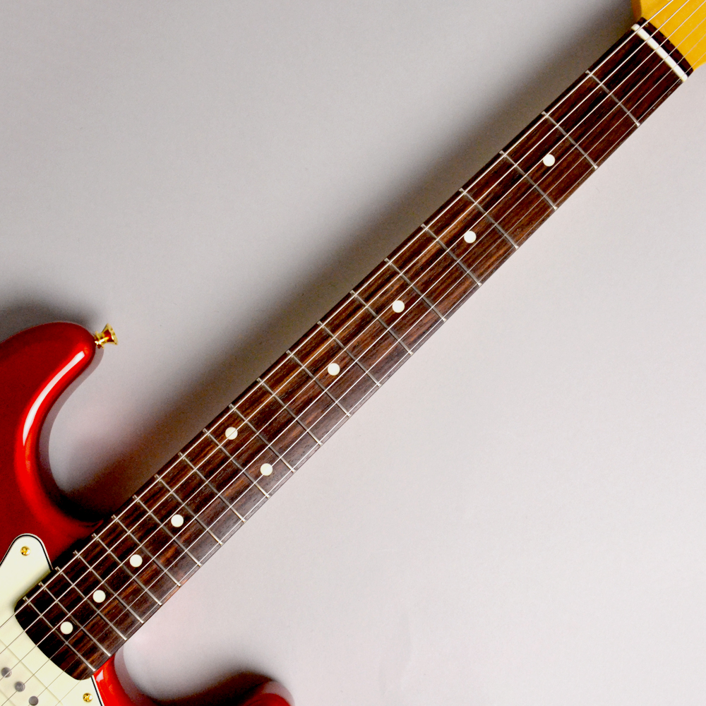 MADE IN JAPAN TRADITIONAL 60S STRATOCASTER GH Candy Apple Redの指板画像