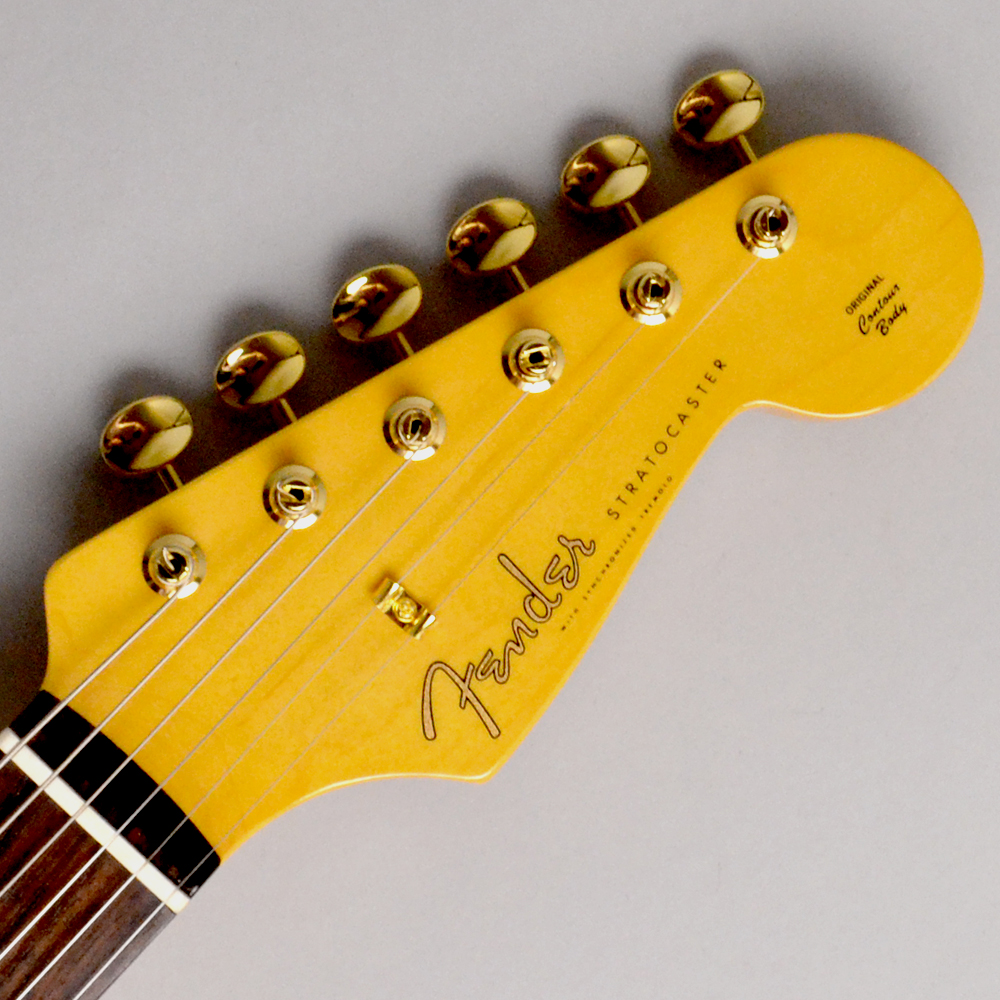 MADE IN JAPAN TRADITIONAL 60S STRATOCASTER GH Candy Apple Redのヘッド画像