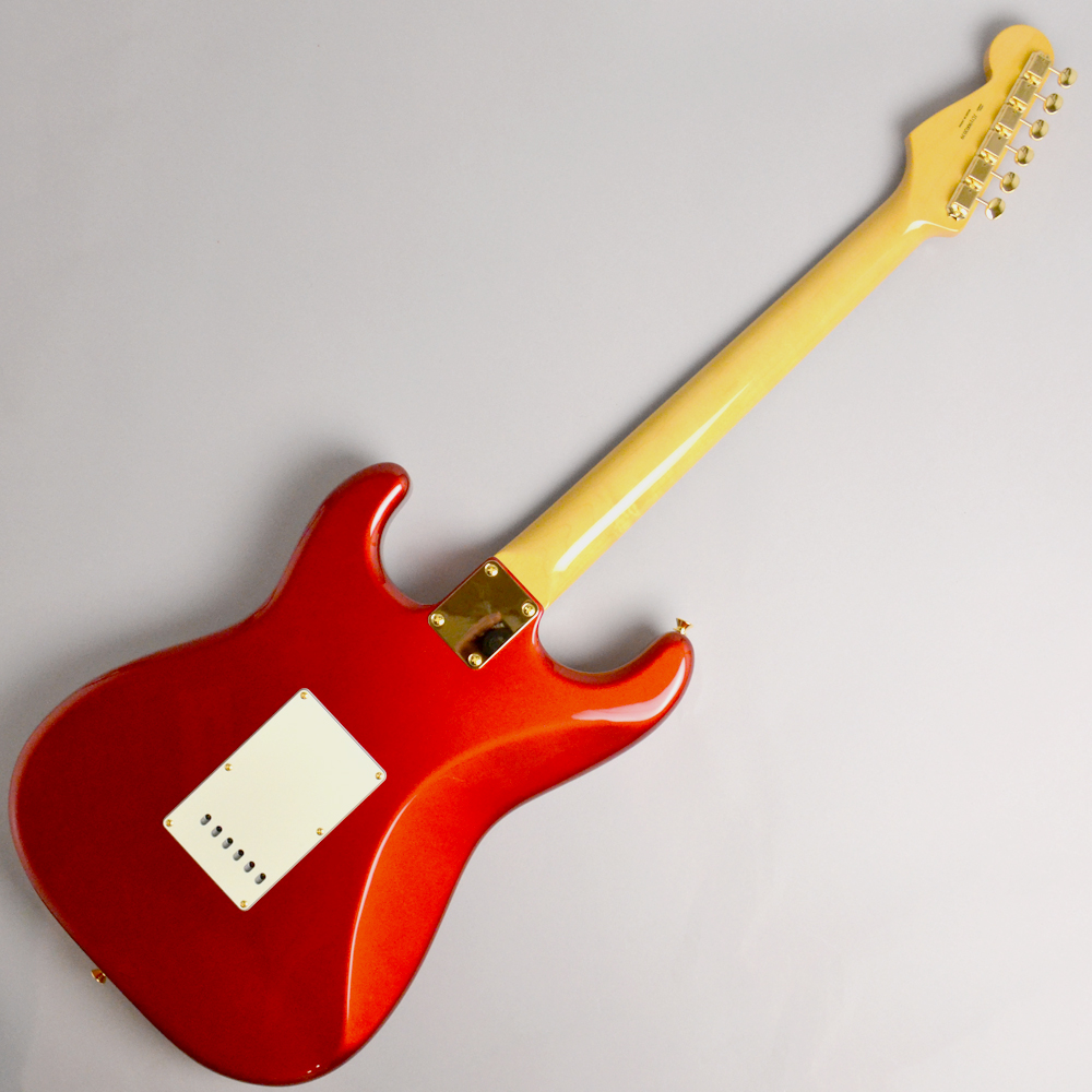 MADE IN JAPAN TRADITIONAL 60S STRATOCASTER GH Candy Apple Redの全体画像(縦)