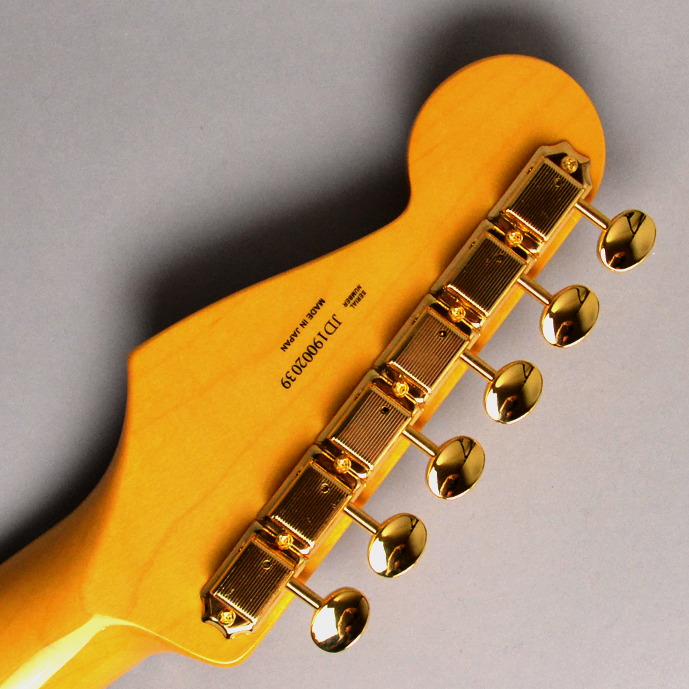 MADE IN JAPAN TRADITIONAL 60S STRATOCASTER GH Candy Apple Redのヘッド裏-アップ画像