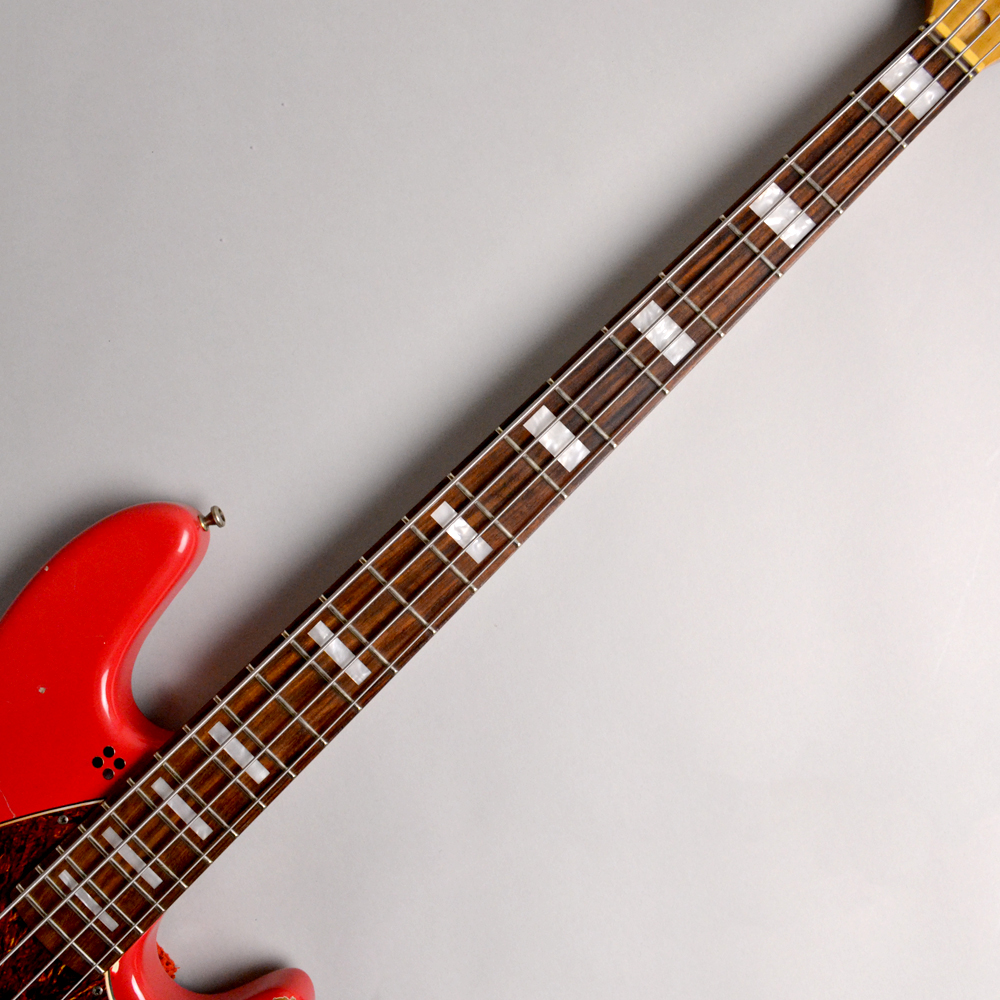 California MarloweDK RED special hardcore agedの指板画像