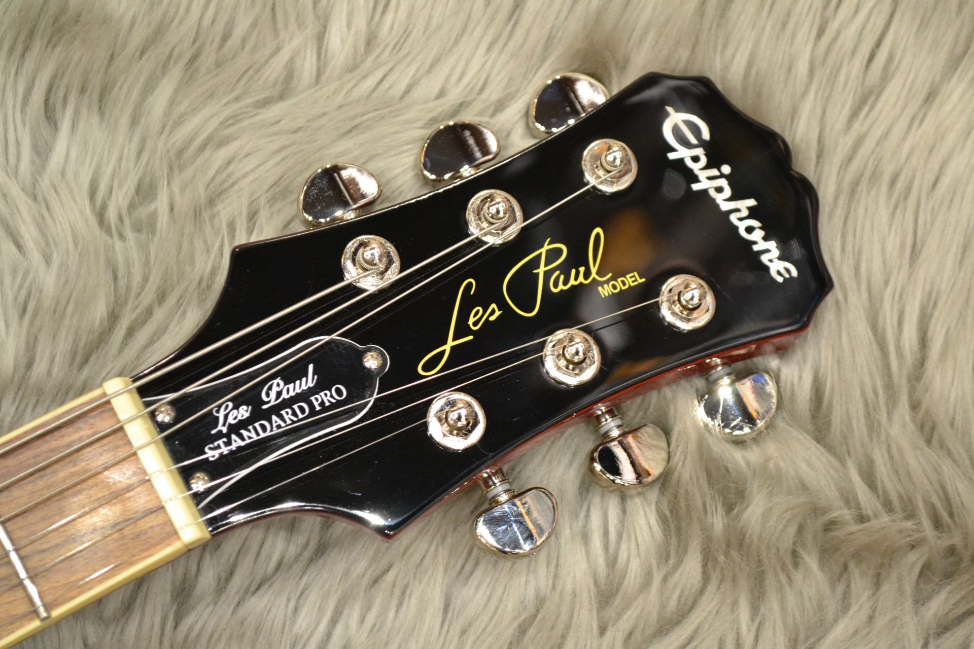 Les Paul STANDARD PLUS-TOP PRO (Probuckers&Coil-Tap)のヘッド画像