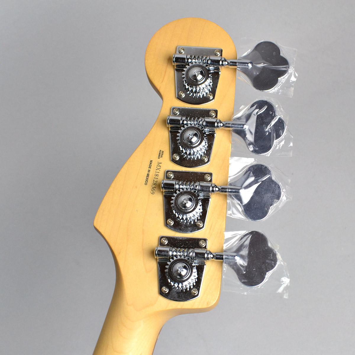 Deluxe Active Jazz Bassのヘッド裏-アップ画像