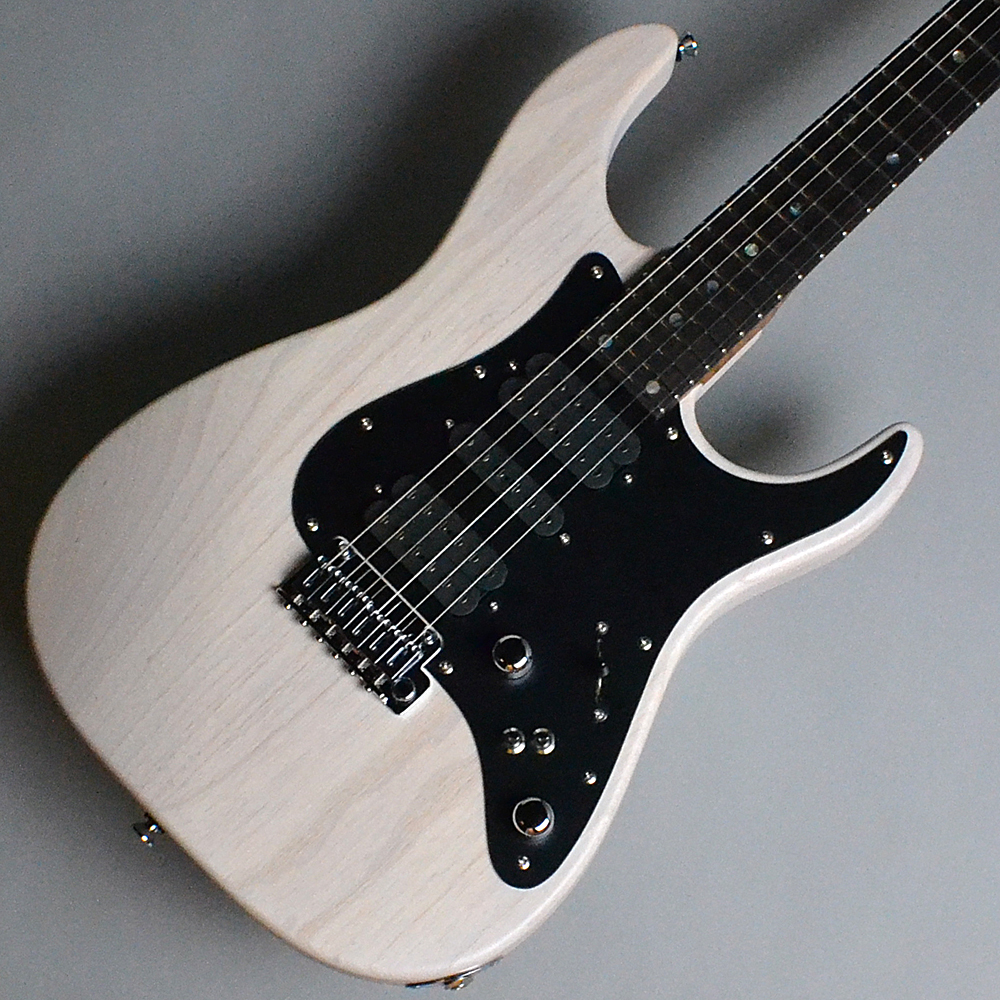 DST-Classic24 Solid Ash Trans White (TW)【S/N:031763】のボディトップ-アップ画像