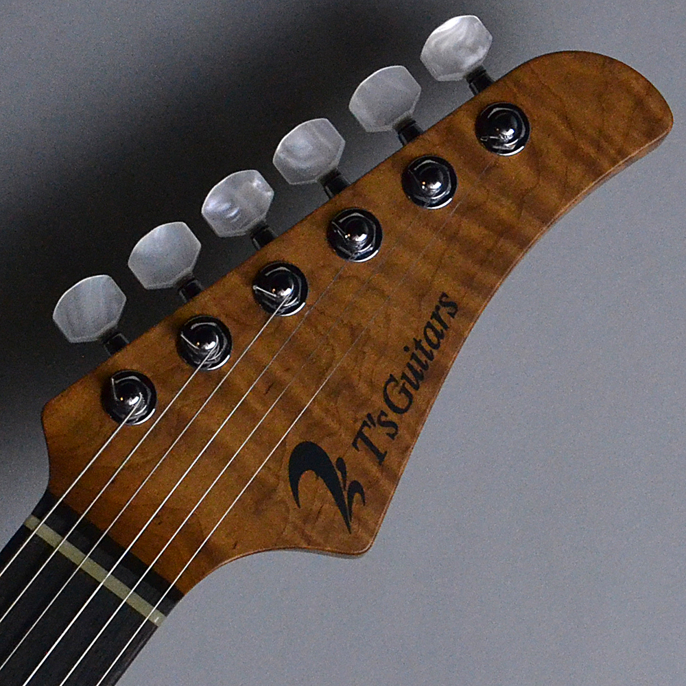 DST-Classic24 Solid Ash Trans White (TW)【S/N:031763】のヘッド画像
