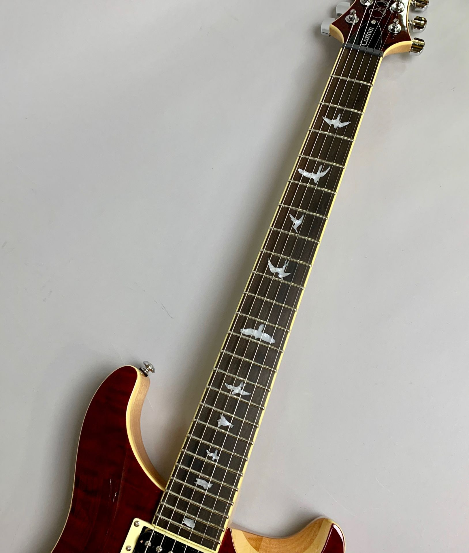 SE CUSTOM 24 QM LTD Black Cherryのヘッド画像
