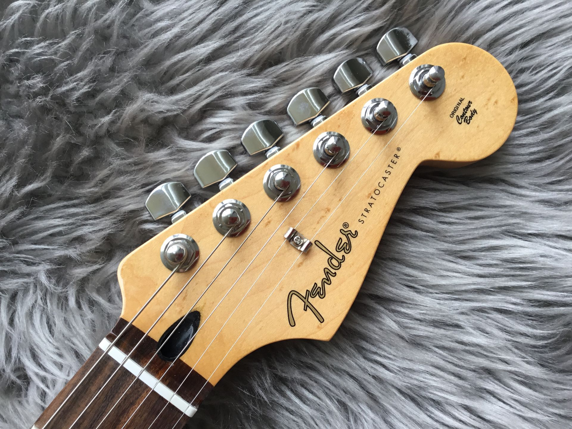 PLAYER STRATOCASTER® PLUS TOPのヘッド画像