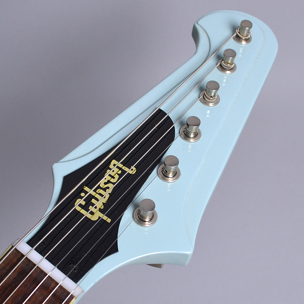 Limited Run 1965 Firebird V Reissue VOS Frost Blue S/N:160195のヘッド画像