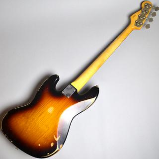 Road Worn 60s Jazz Bass Rosewood Fingerboard / 3-Color Sunburst (S/N MX16787033)【B級特価】の全体画像(縦)