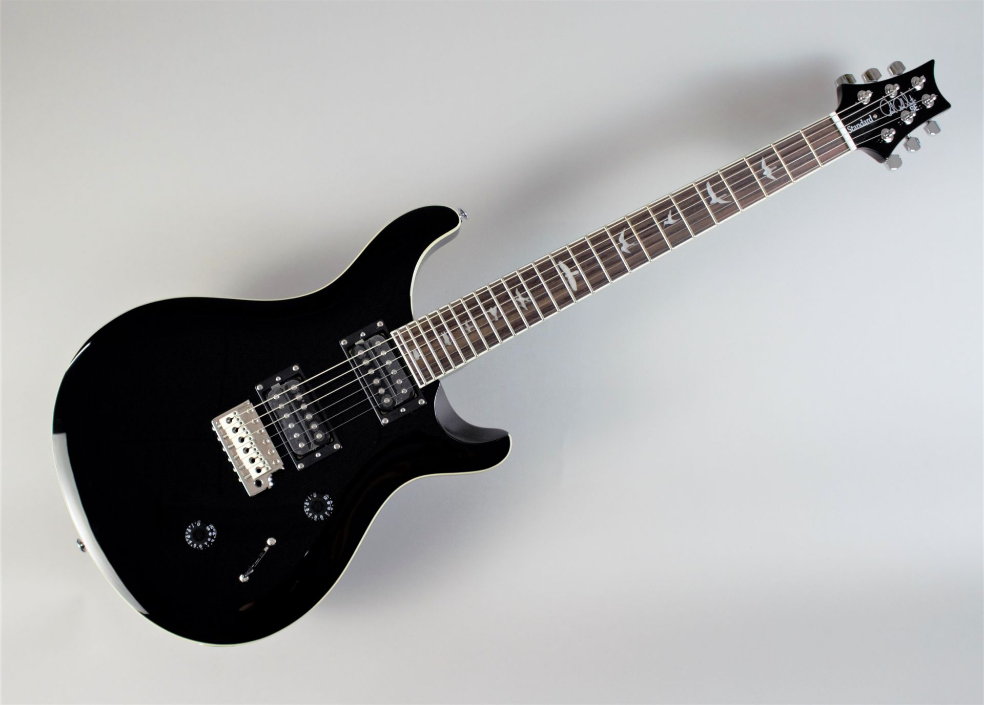 Paul Reed Smith(PRS)  SE STANDARD 24 ALL BLACK【... 写真画像