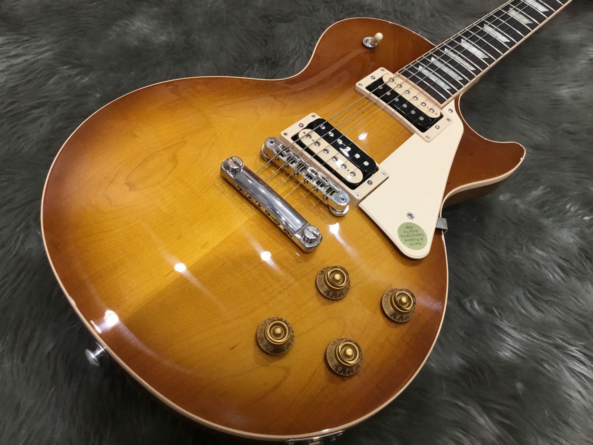 Gibson LP Classic Lightのボディトップ-アップ画像