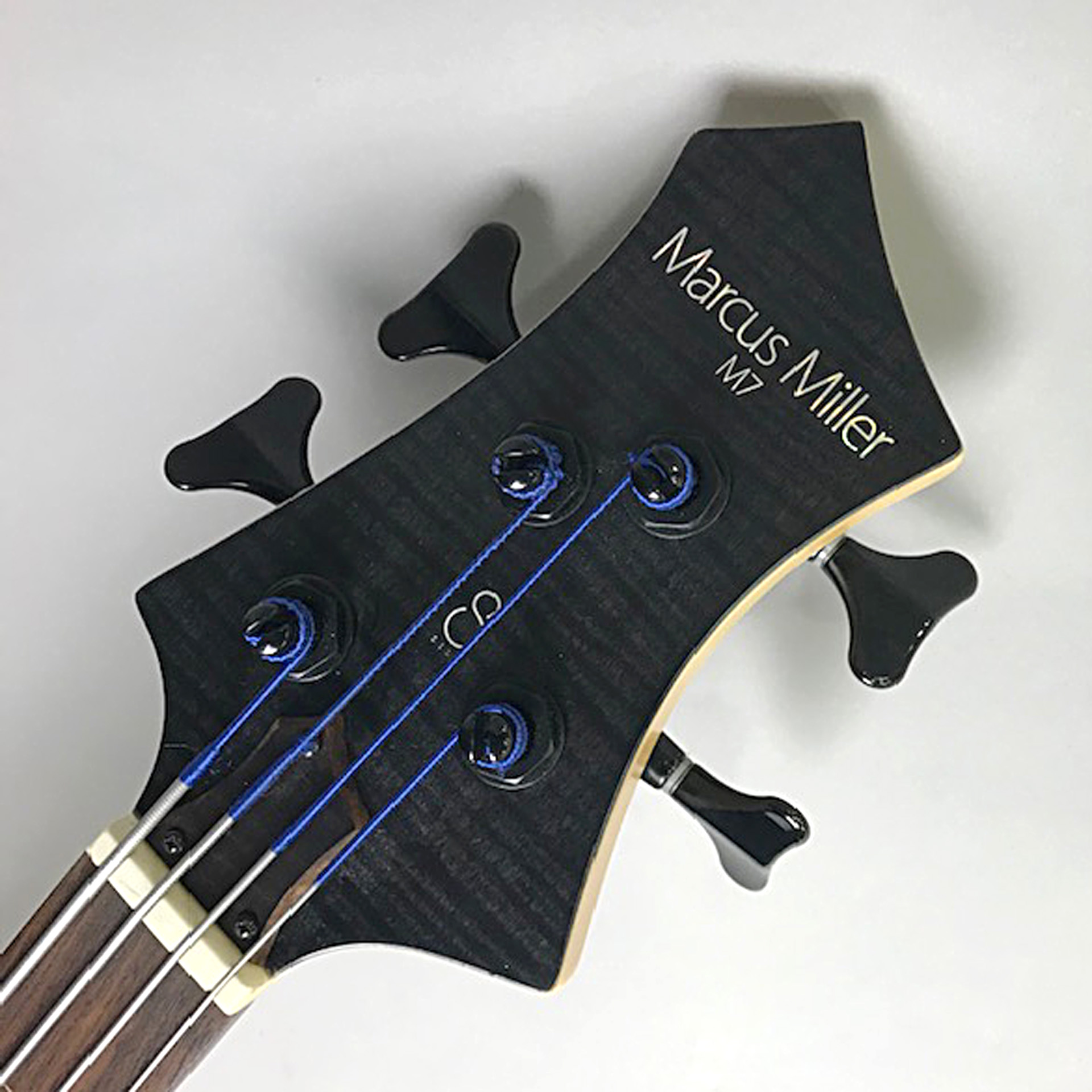 M7 4ST SwanpAsh+Maple Fretless(S/N:16360274)のヘッド画像