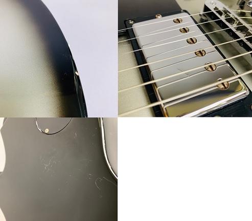 Les Paul Studio Deluxe Silverburst 2010年製のケース・その他画像