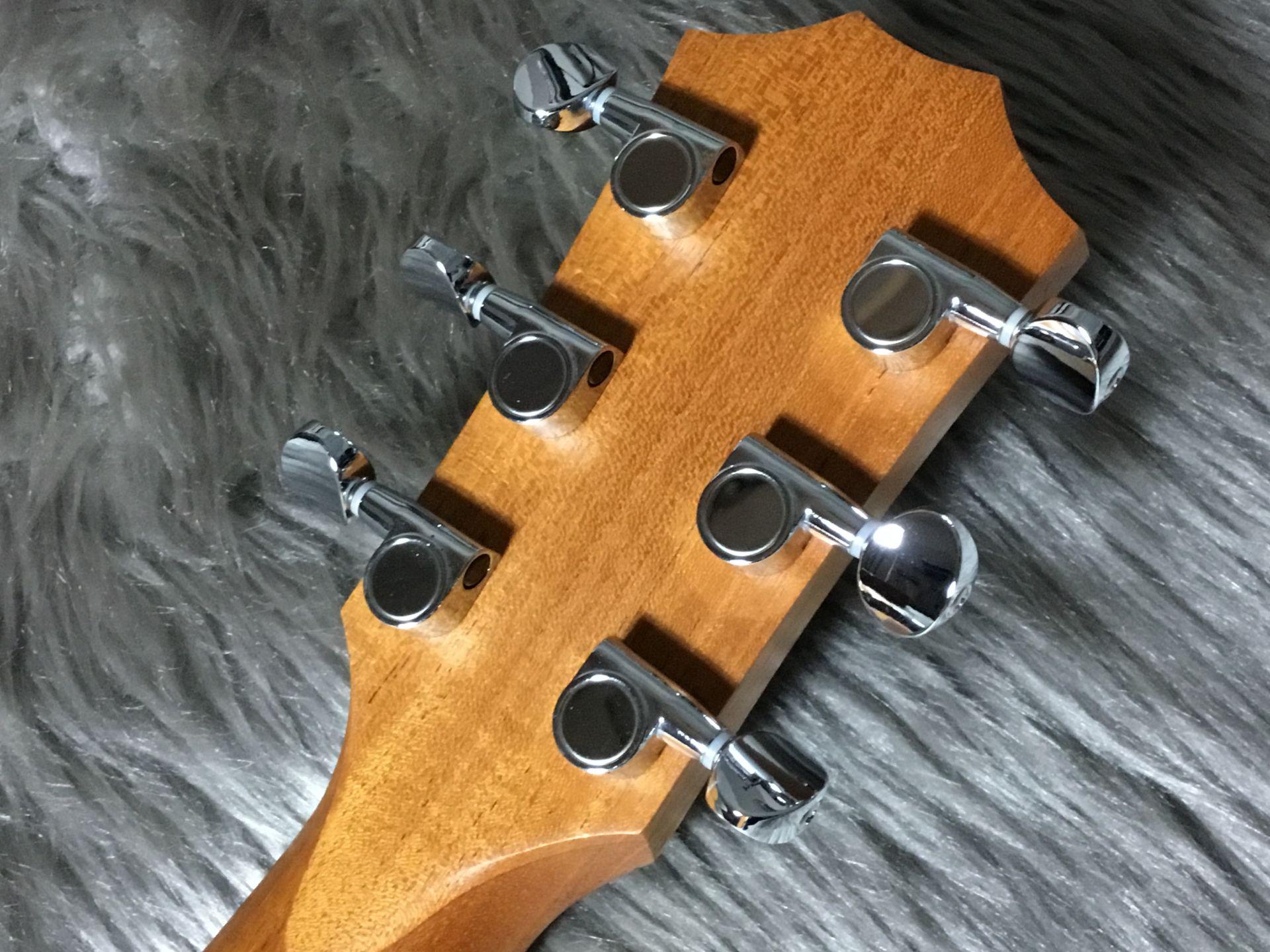 GS Mini mahoganyのヘッド裏-アップ画像