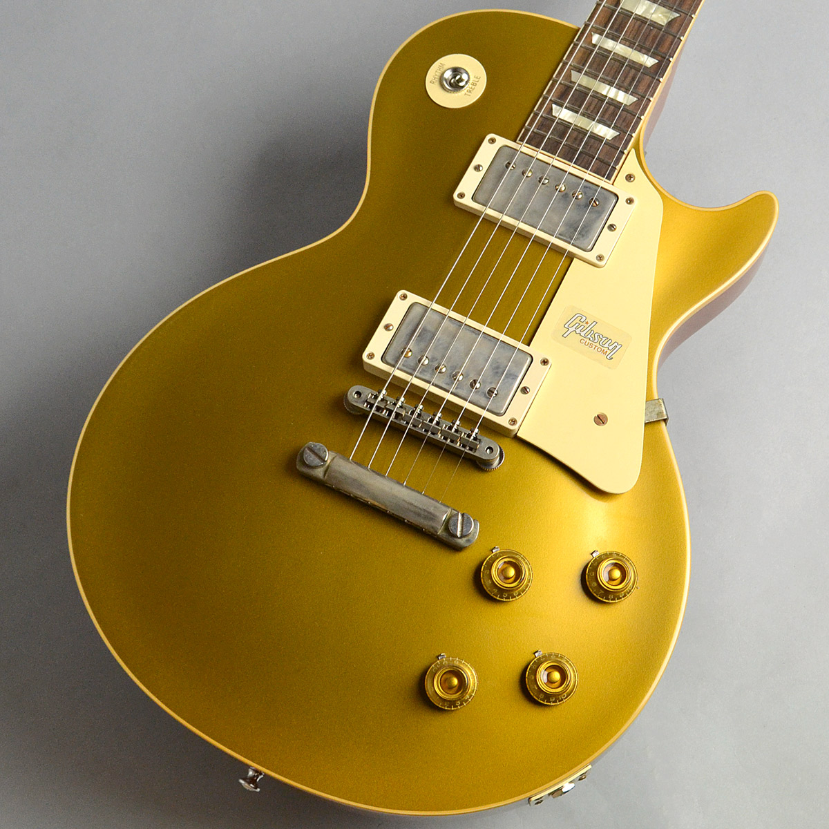 1957 Les Paul Gold top VOSのボディトップ-アップ画像