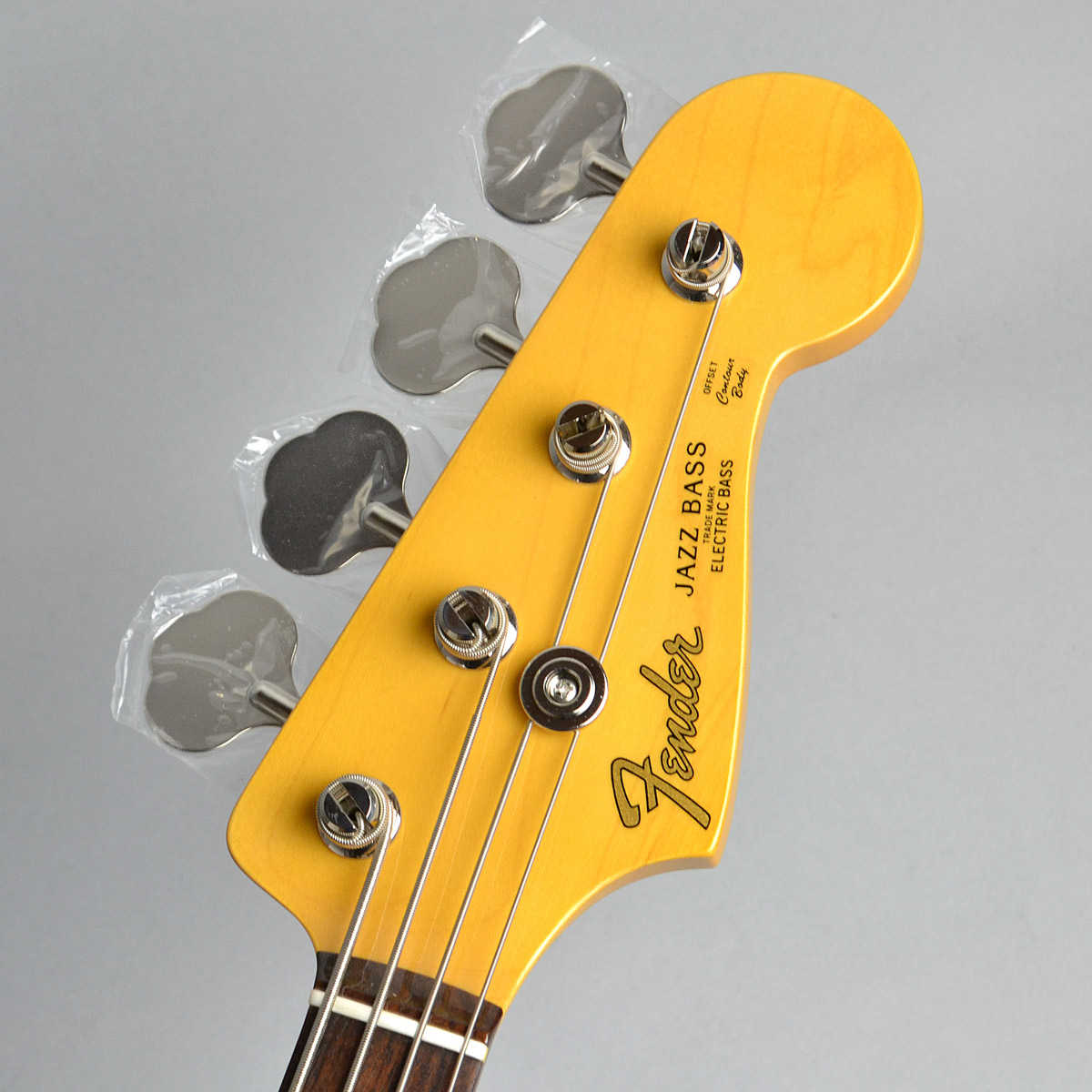 Made in Japan Traditional 60s Jazz Bassのヘッド画像