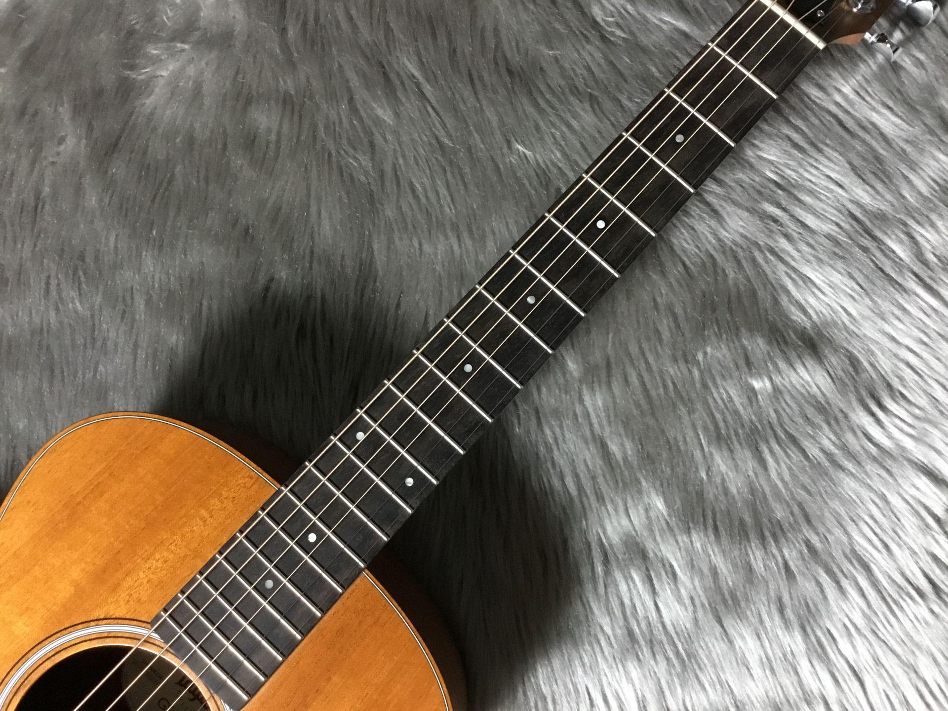 GS Mini mahoganyの指板画像