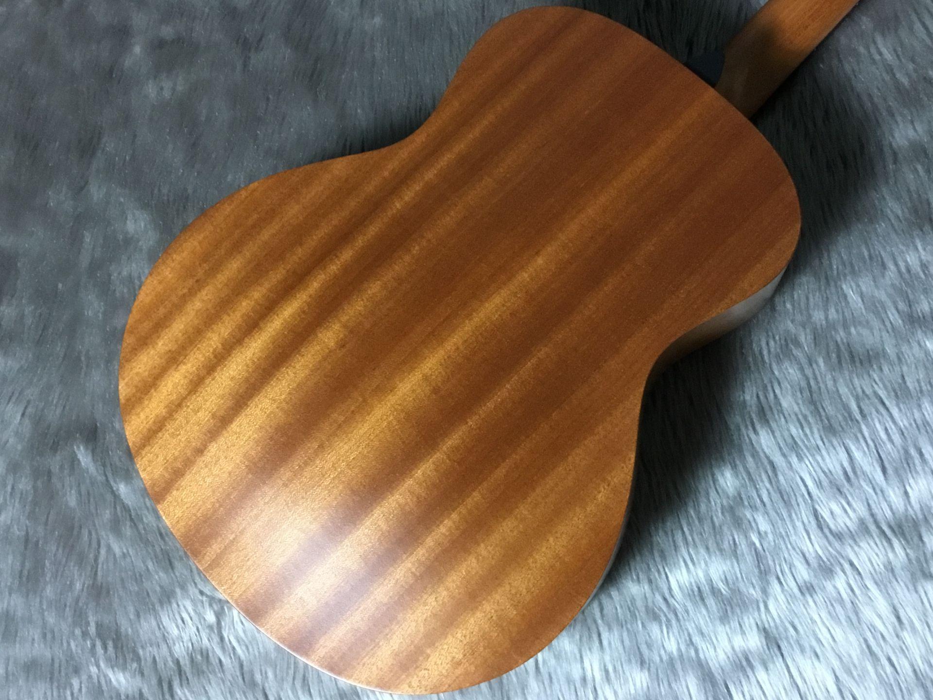 GS Mini mahoganyのボディバック-アップ画像