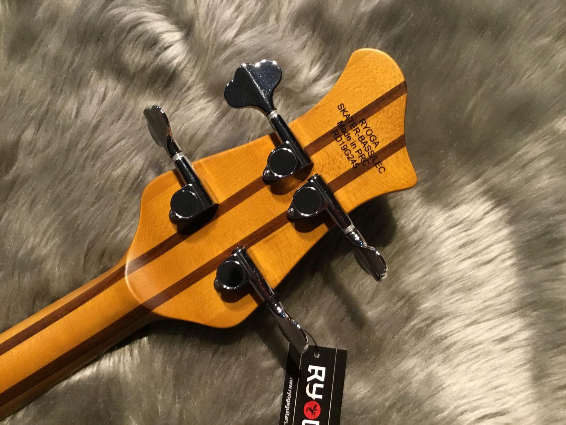 SKATER-BASS/LECのヘッド裏-アップ画像