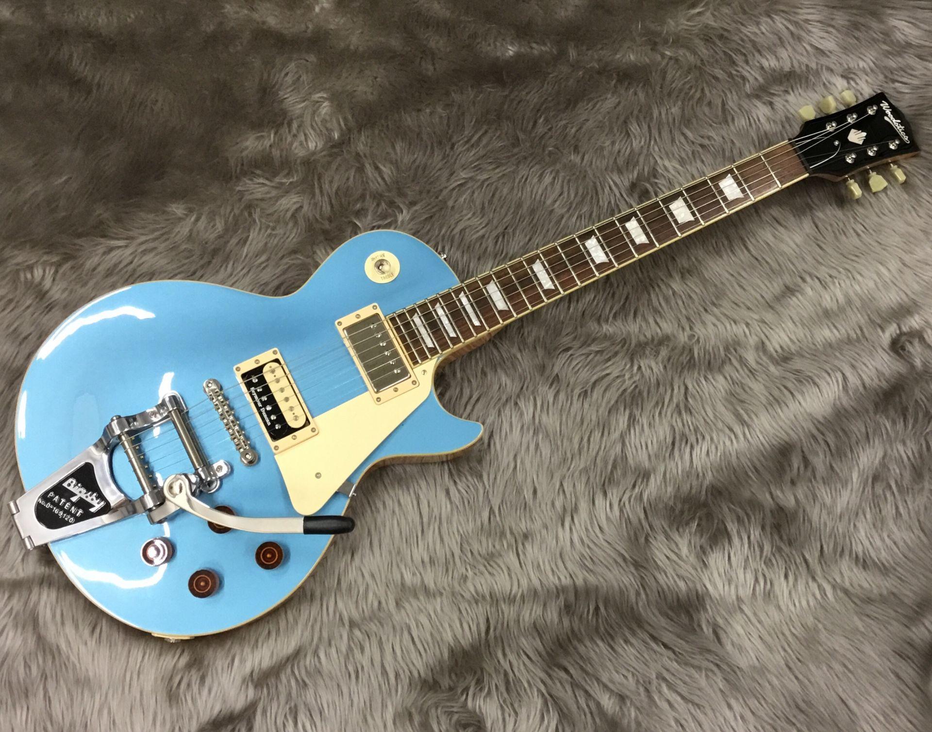 Woodstics Guitars WS-LP-STD/B 写真画像