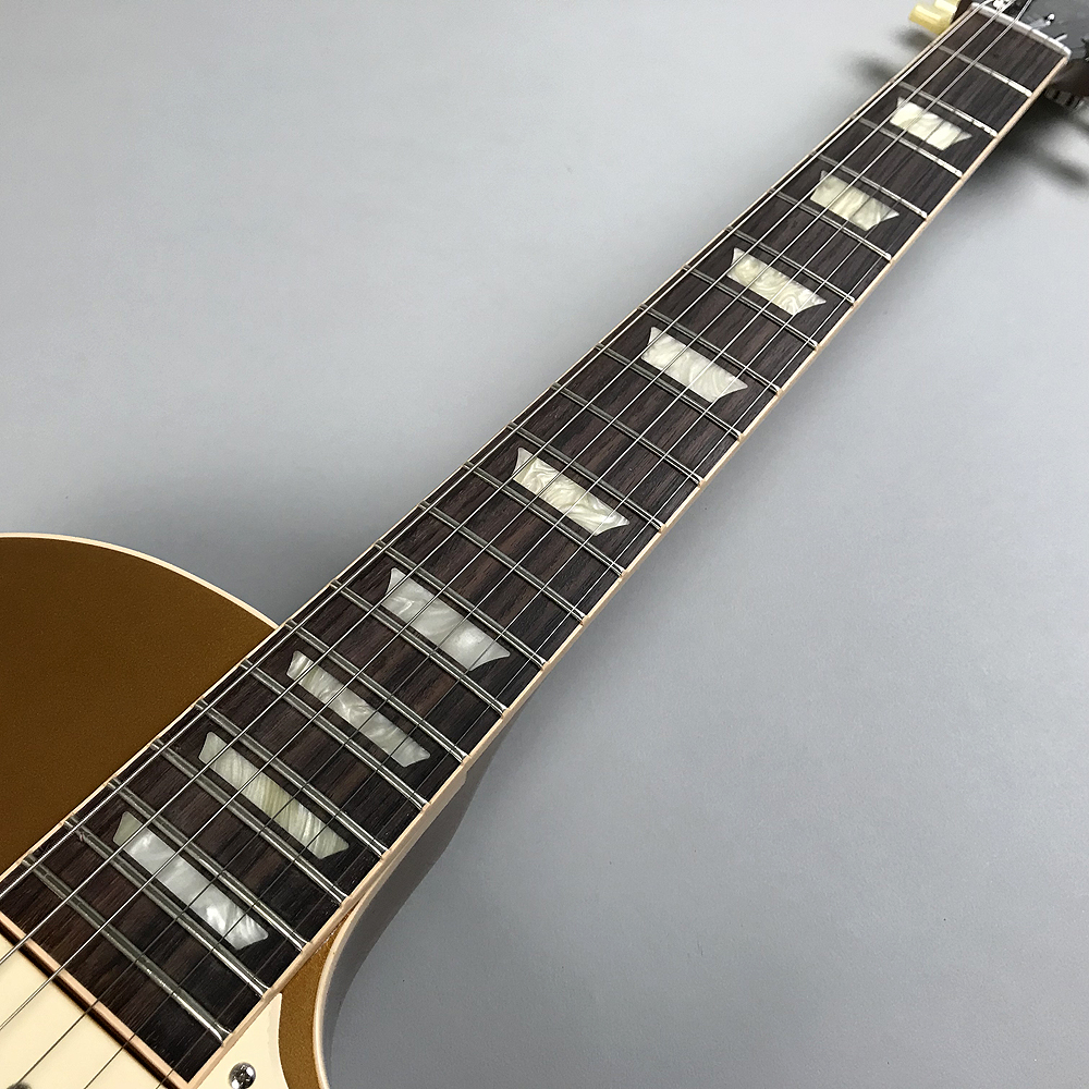 Les Paul Standard 50s P-90/Gold Topの指板画像