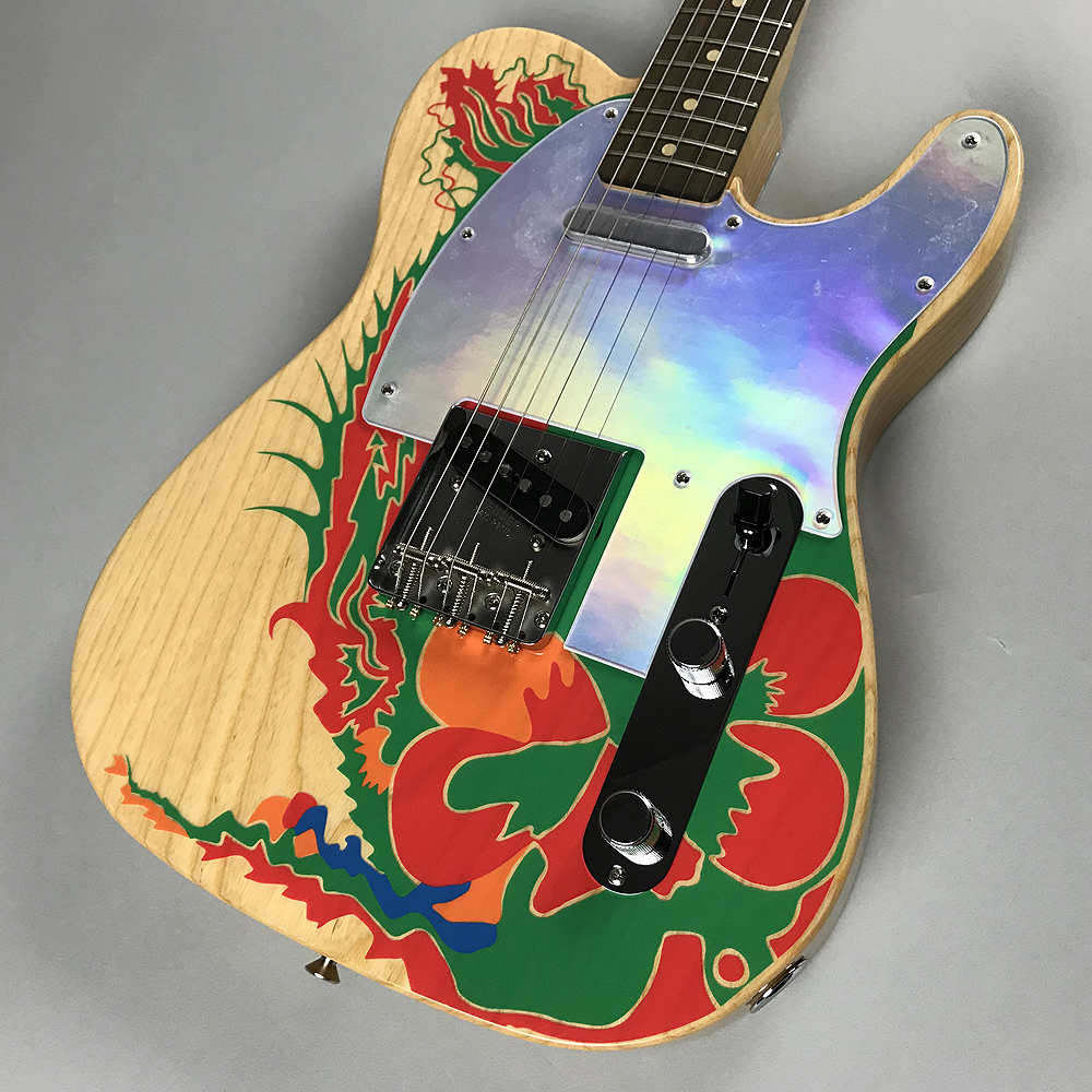 JIMMY PAGE TELECASTER®のボディトップ-アップ画像