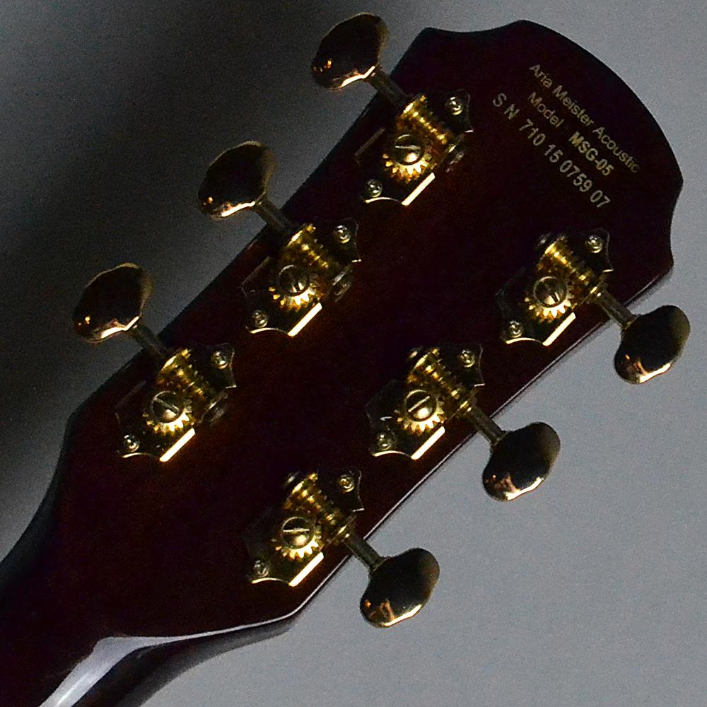 Meister Series MGS-05 Natural (N) 【S/N:71015075907】の指板画像