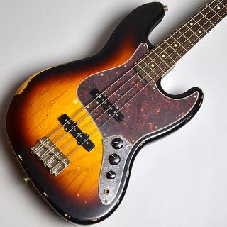 Road Worn 60s Jazz Bass Rosewood Fingerboard / 3-Color Sunburst (S/N MX16787033)【B級特価】のボディトップ-アップ画像