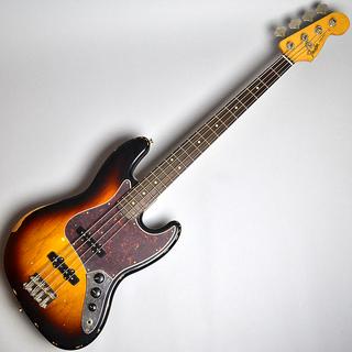 Road Worn 60s Jazz Bass Rosewood Fingerboard / 3-Color Sunburst (S/N MX16787033)【B級特価】