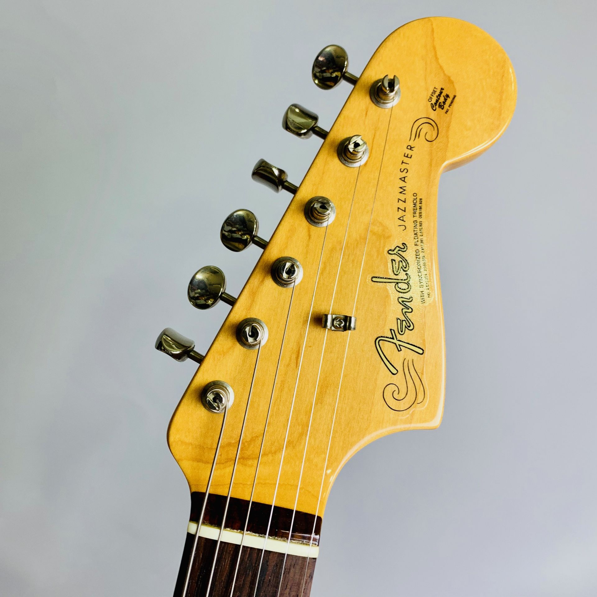 American Vintage 62 JAZZMASTER OWT S/N V155789のヘッド画像