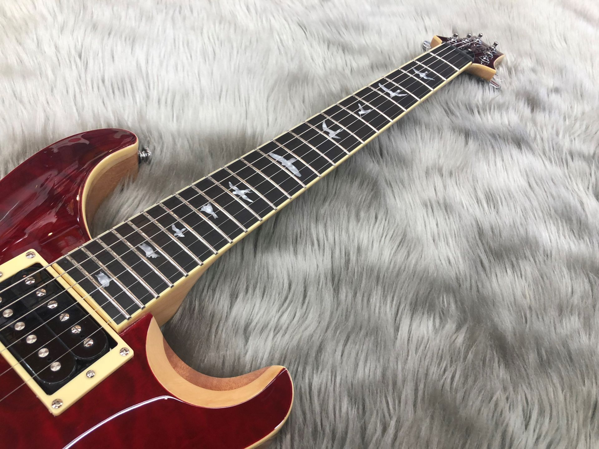 SECustom24 QM LTDの指板画像