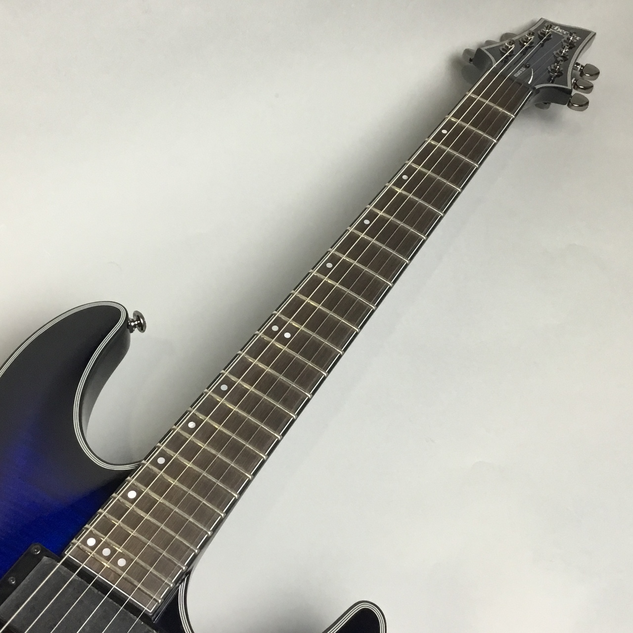 SCHECTER AD-C-1-BJ-SLS/A/STBBの指板画像