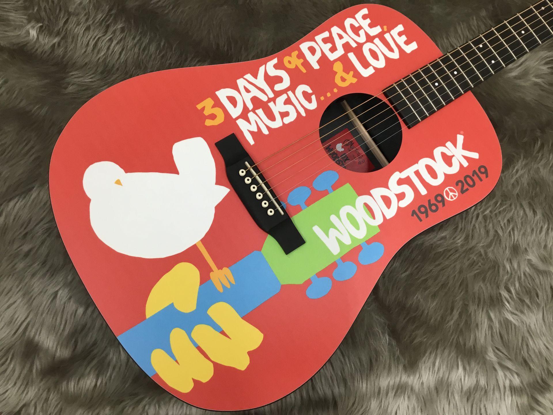 DX Woodstock 50thのボディトップ-アップ画像