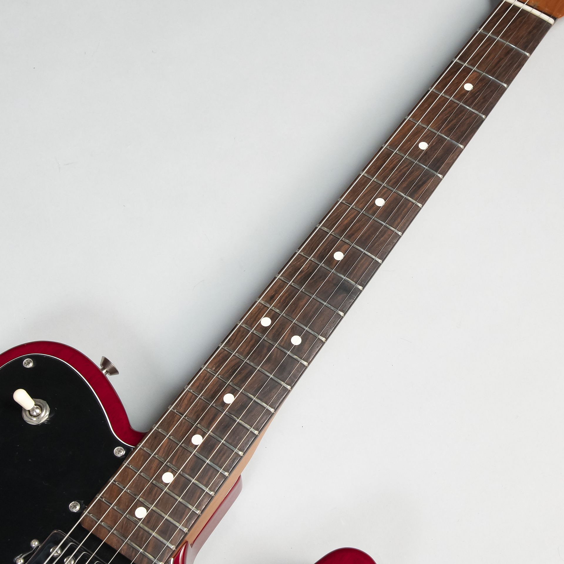 2017 LIMITED EDITION AMERICAN PROFESSIONAL MAHOGANY TELE DELUXEの指板画像