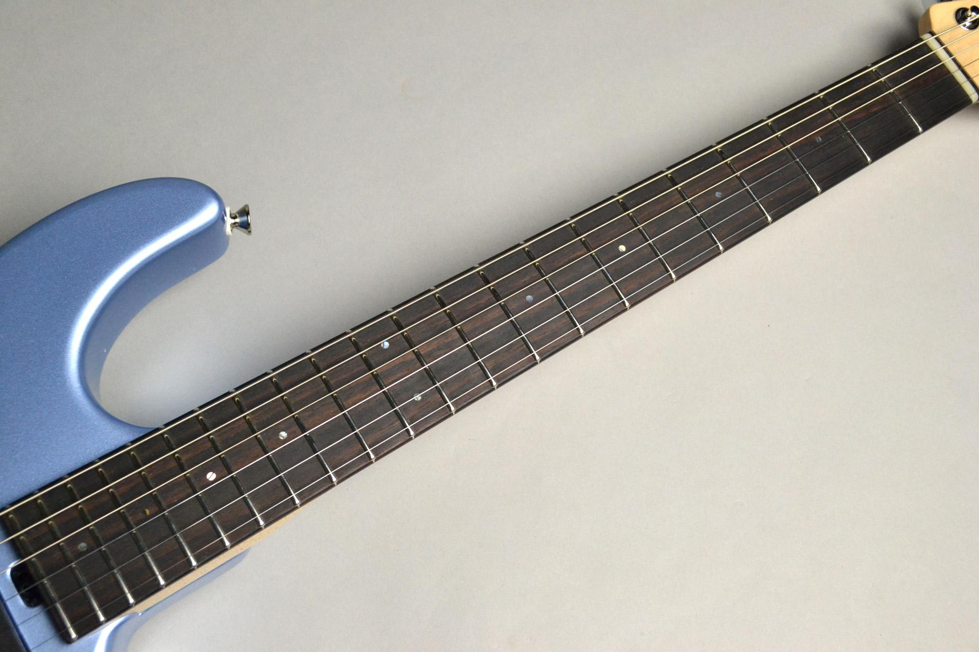 "Dinky-ST22 SSH/EMG ""S""Limited Blue Ice Metallic【島村楽器コラボモデル】の指板画像"
