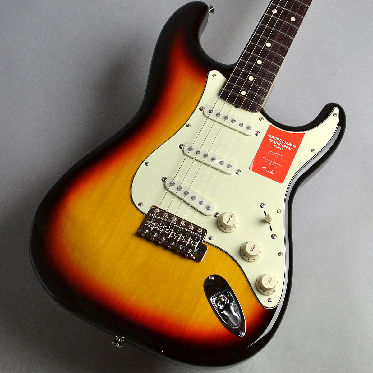 Made in Japan Traditional 60s Stratocasterのボディトップ-アップ画像