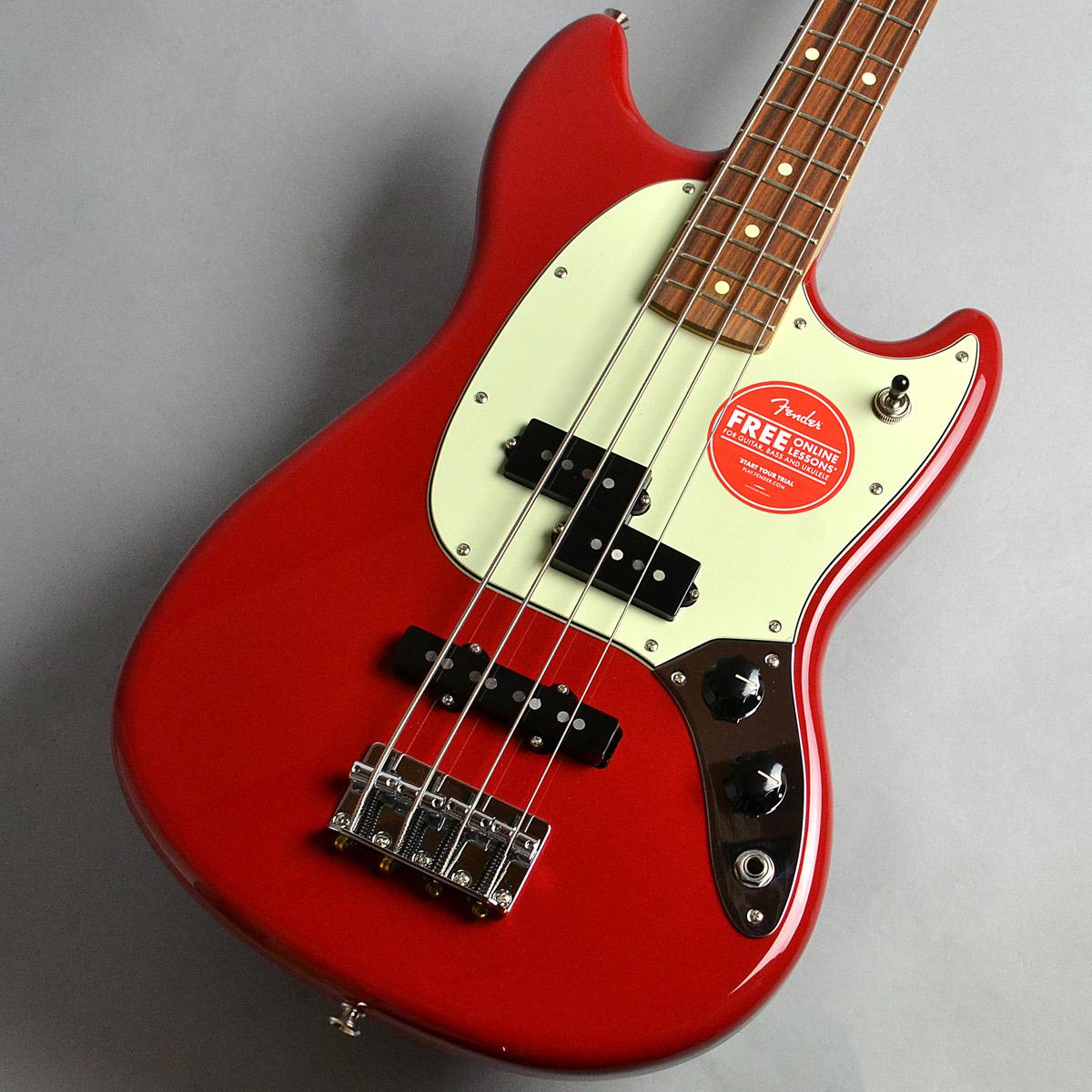 Mustang Bass PJのボディトップ-アップ画像
