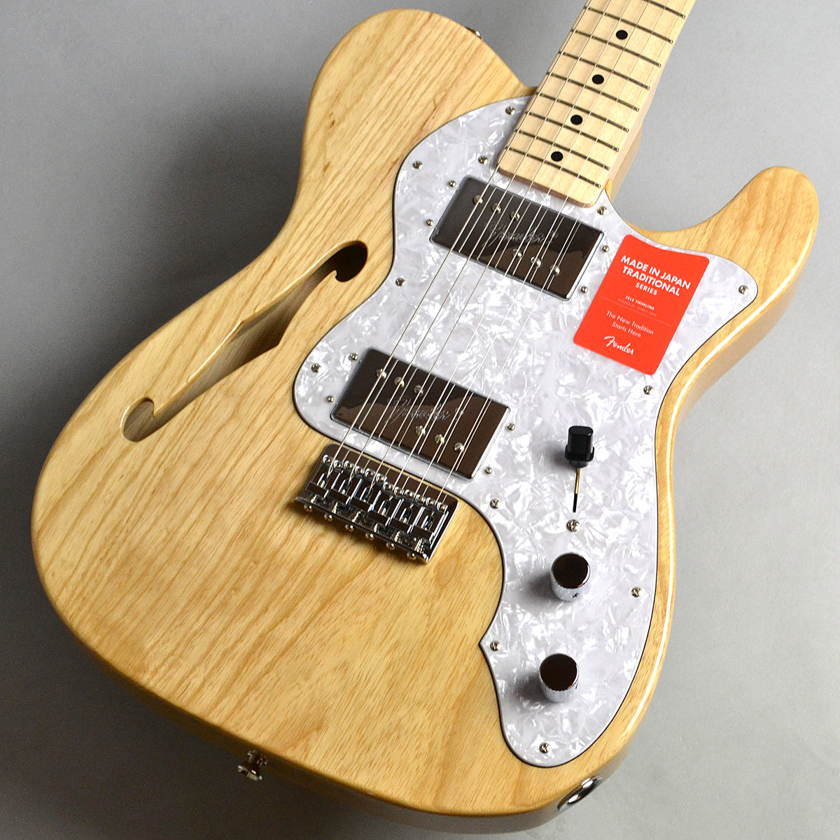 Made in Japan Traditional 70s Telecaster Thinlineのボディトップ-アップ画像