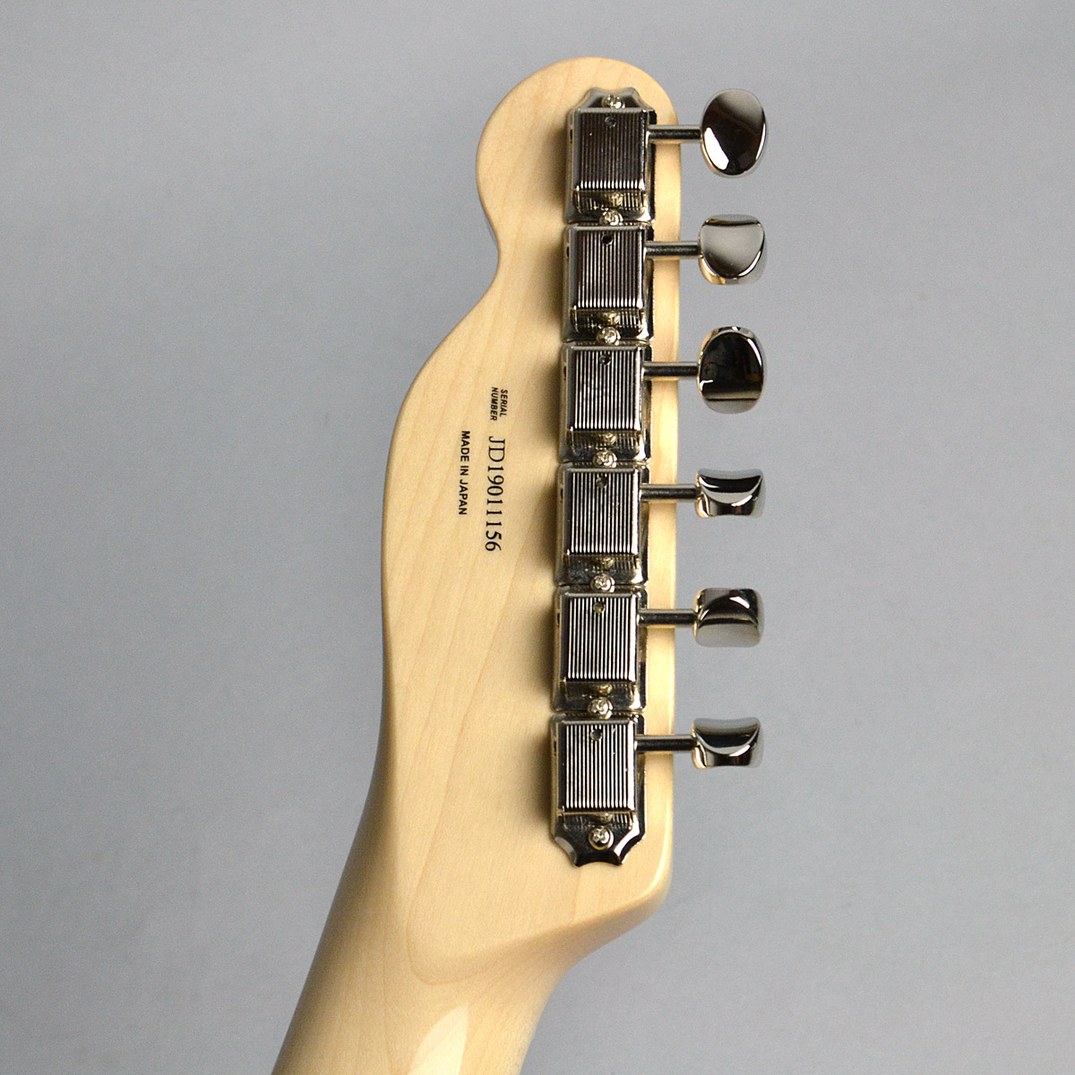 Made in Japan Traditional 70s Telecaster Thinlineのヘッド裏-アップ画像