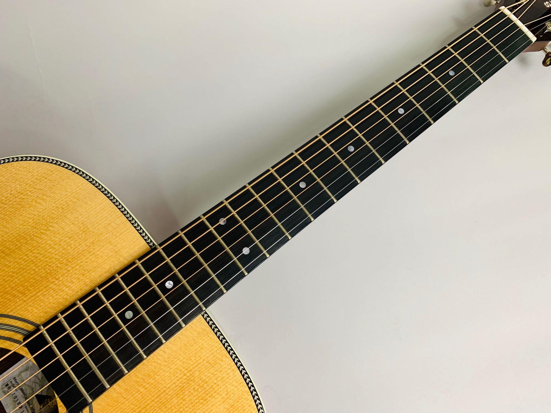 MS-101HD ハカランダ採用 島村楽器50本限定モデルのボディバック-アップ画像