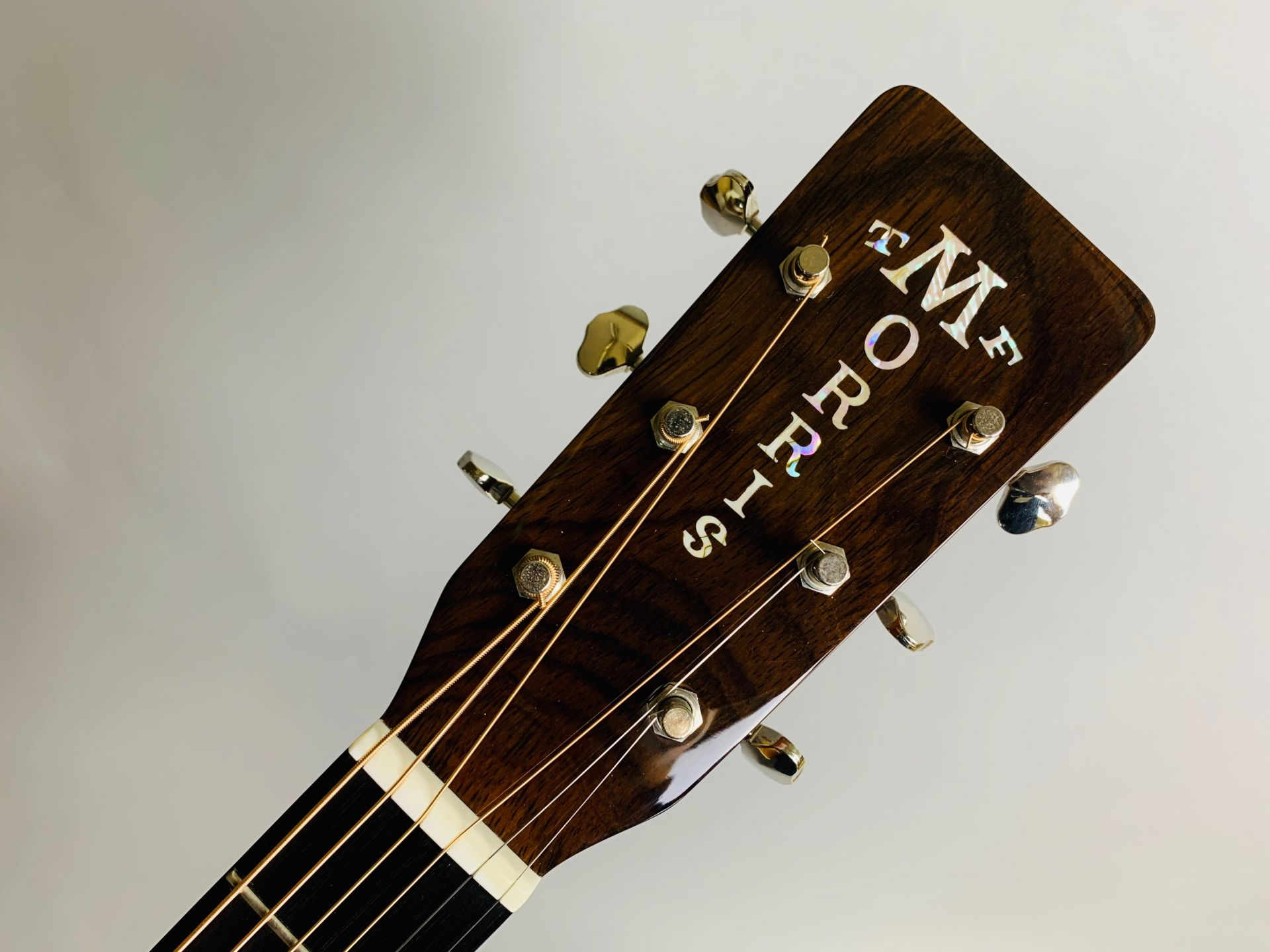 MS-101HD ハカランダ採用 島村楽器50本限定モデルのヘッド画像
