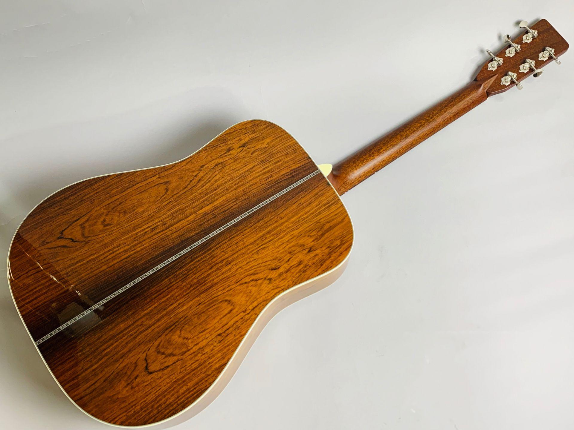 MS-101HD ハカランダ採用 島村楽器50本限定モデルのヘッド裏-アップ画像