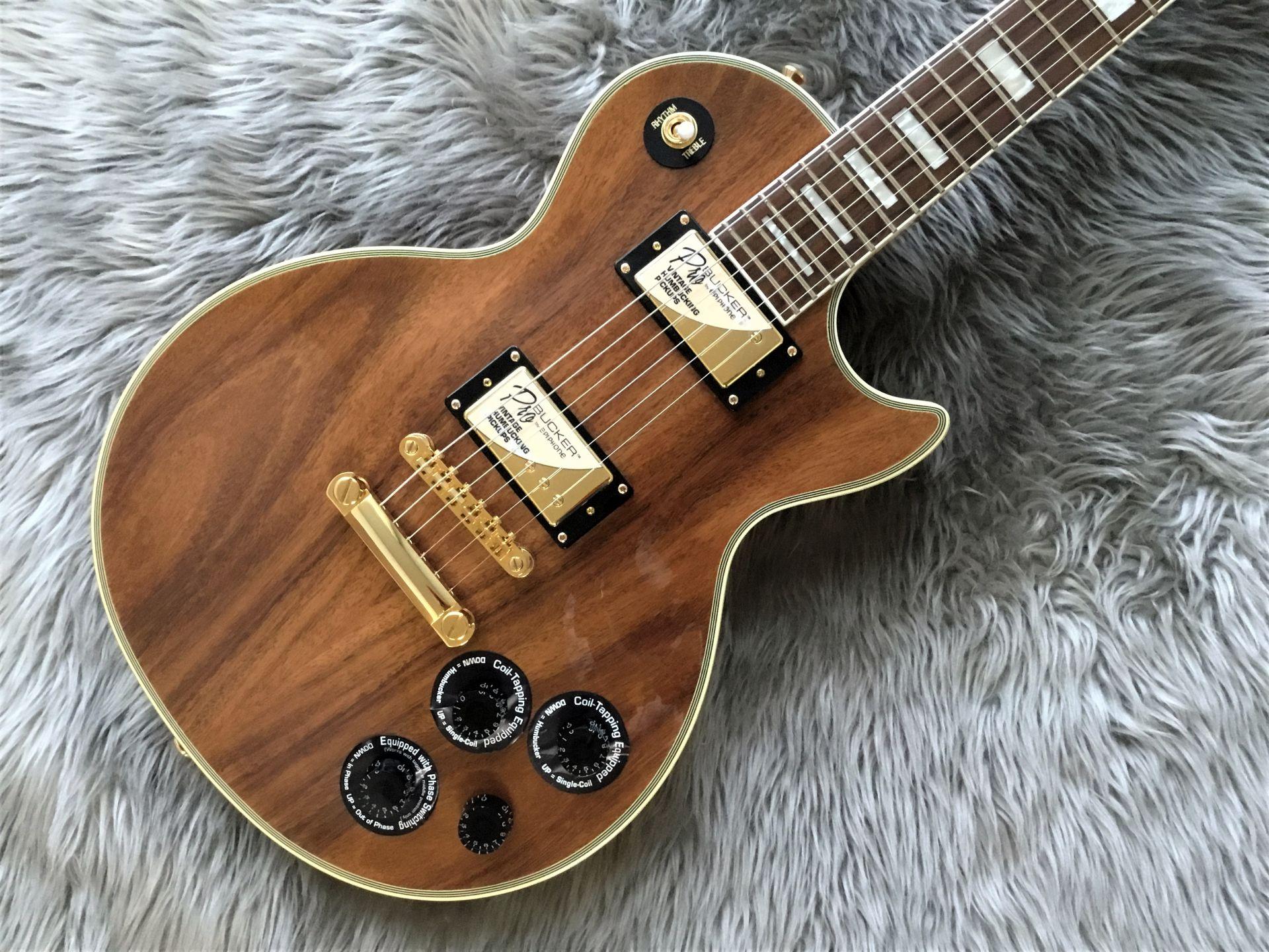 LTD Les Paul Custom PRO KOA