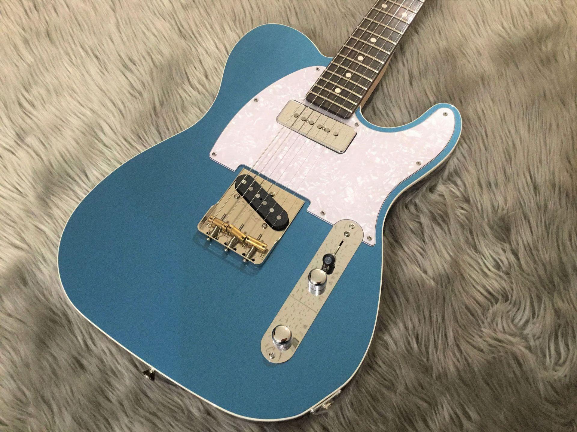 【7本限定】Standard-T / Neon Blue Metallicのボディトップ-アップ画像