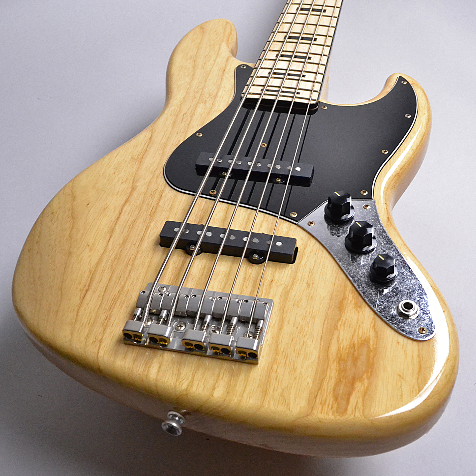 HR-BJ5/M Ash Natural Rugged Finished Looks Like Oldのヘッド画像
