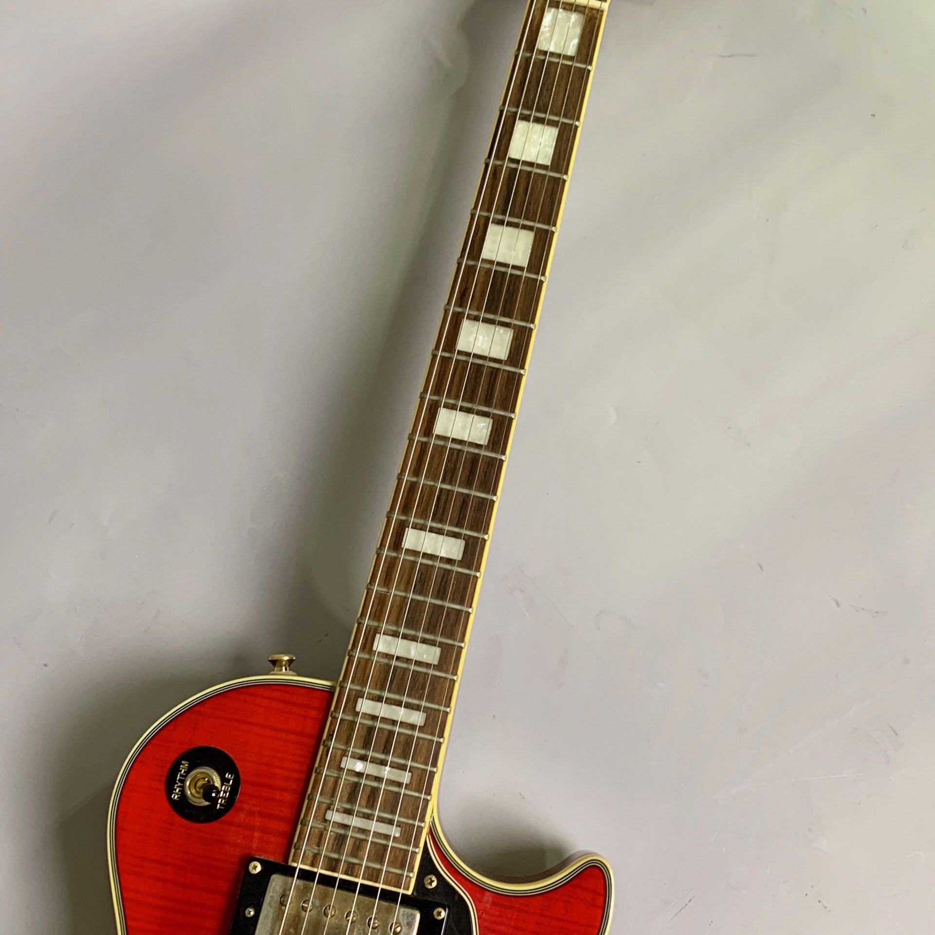 Les Paul Custom Plus Top Herritage Cherry Sunburst【2nd品】のボディバック-アップ画像
