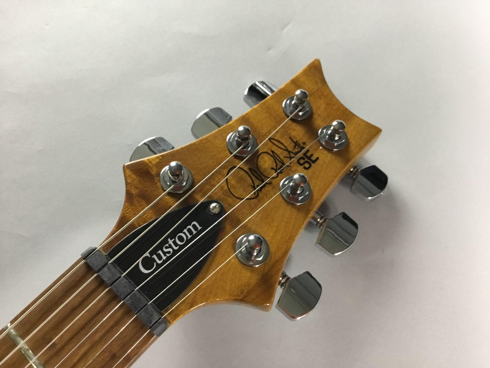 SE Custom 24 Rasted Maple【限定品】のヘッド画像