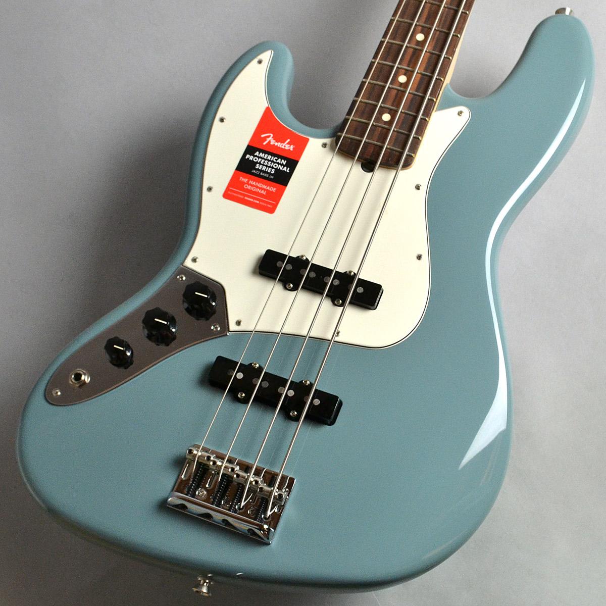 American Professional Jazz Bass Left-Handのボディトップ-アップ画像