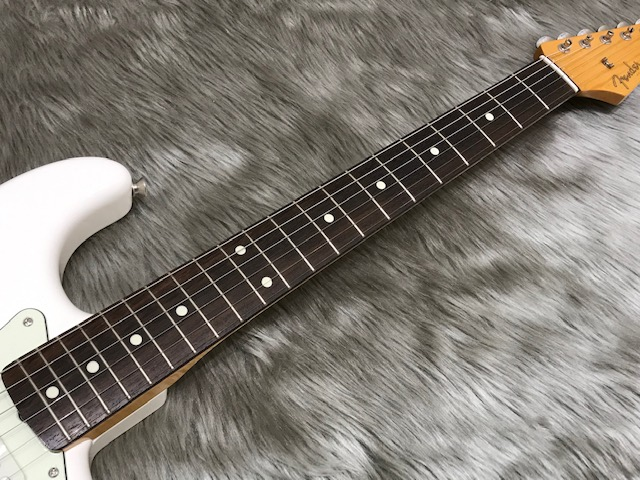 MADE IN JAPAN TRADITIONAL 60S STRATOCASTERの指板画像